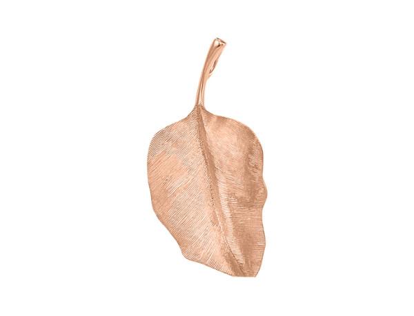 Leaves vedhæng rundt rosaguld 4cm