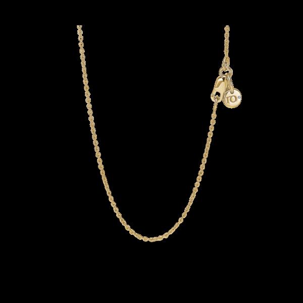 Halskæde 55cm 0,003ct