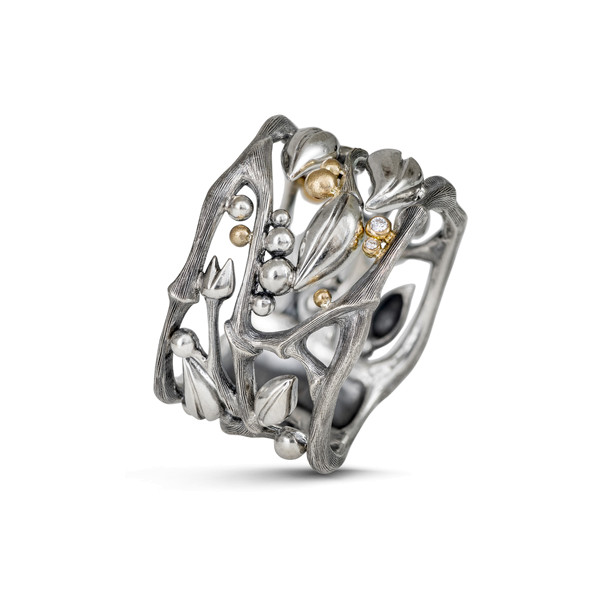 Forest ring 0,02ct