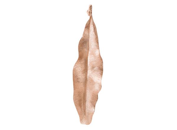 Leaves vedhæng rosaguld 7cm