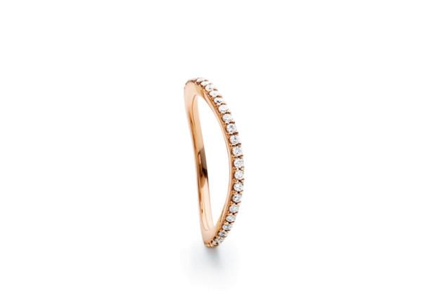 Love bands ring rosaguld buet