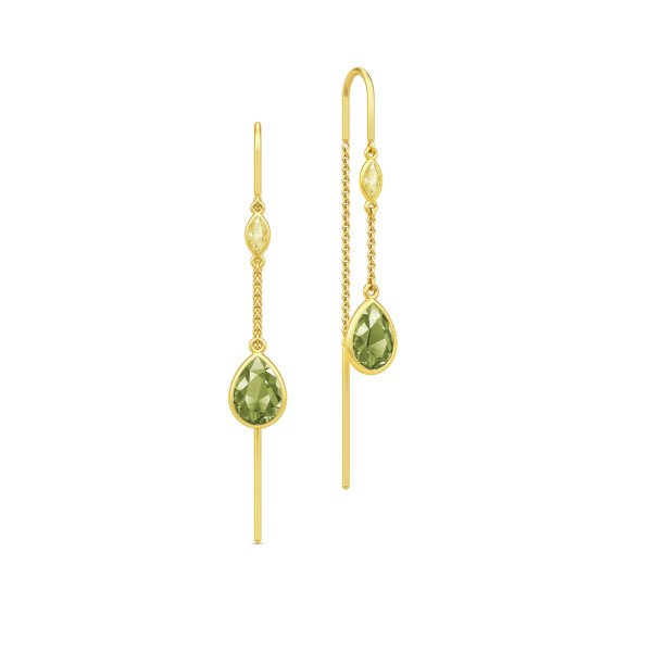 Tinkerbell chandeliers green ørehængere