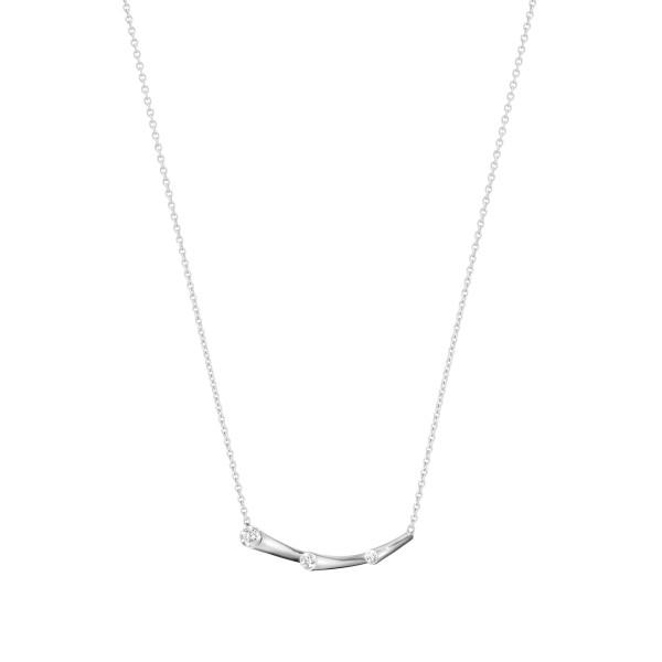 MAGIC vedhæng - 18 kt.hvidguld med brillantslebne diamanter
