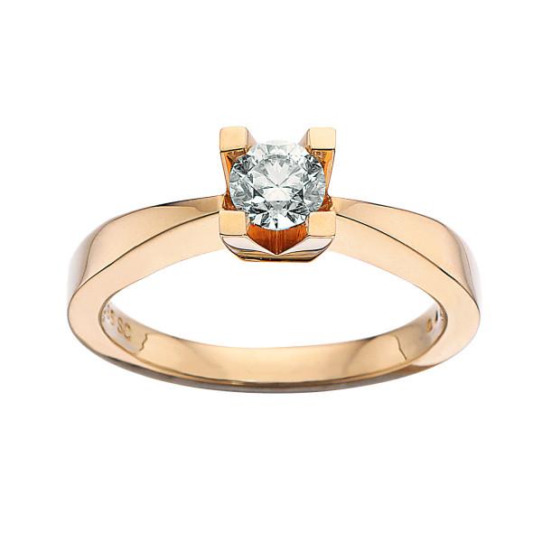 Kleopatra ring 0.40 ct