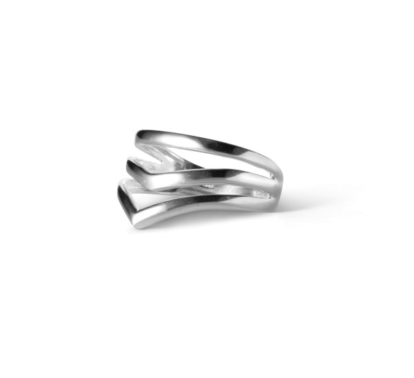 Ring, V-shape