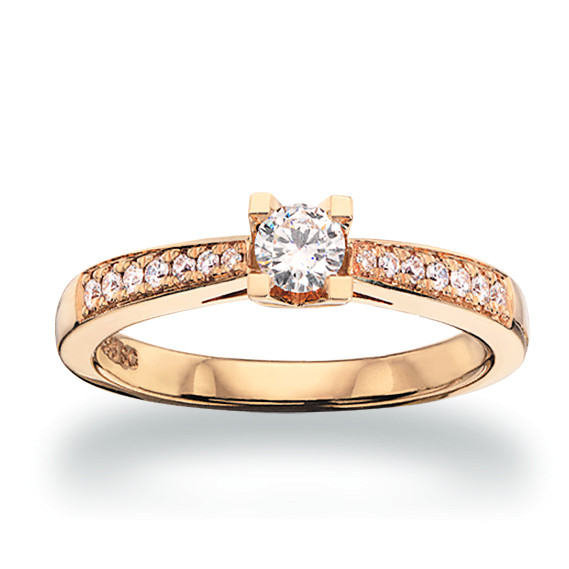 Kleopatra Queen ring 0.53 ct