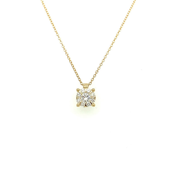Illusion collier 0.31ct TW/SI