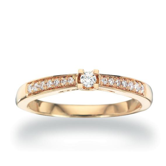 Kleopatra Queen ring 0.15 ct