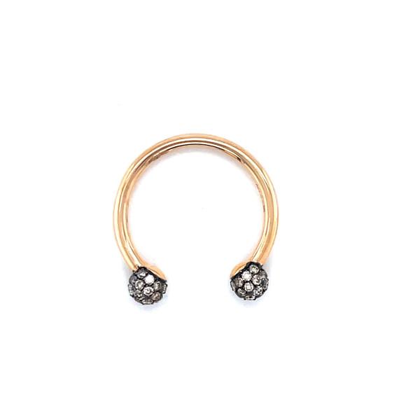 18kt Harmony ring med 0,50ct brune diamanter