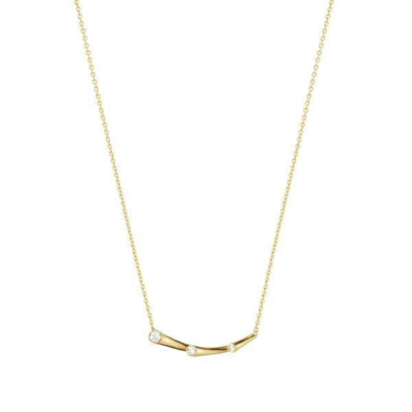 MAGIC vedhæng - 18 kt. guld med brillantslebne diamanter