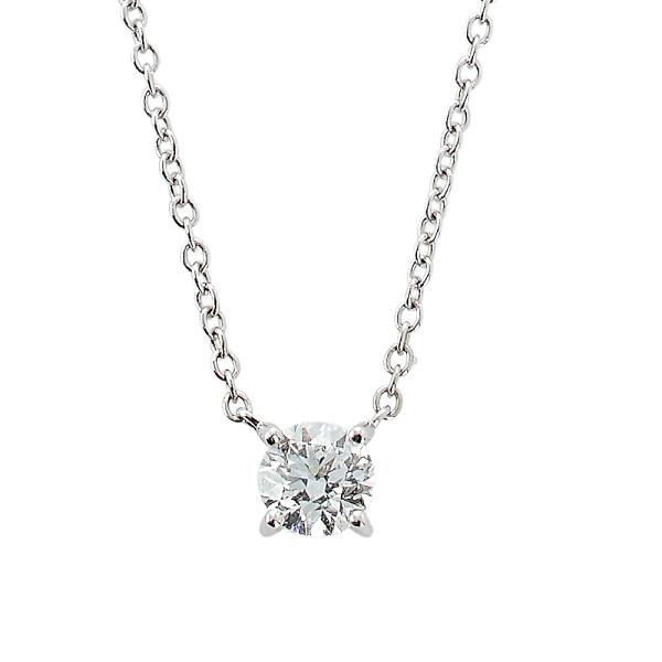 Kæde m/diamant 0,50ct TW/SI