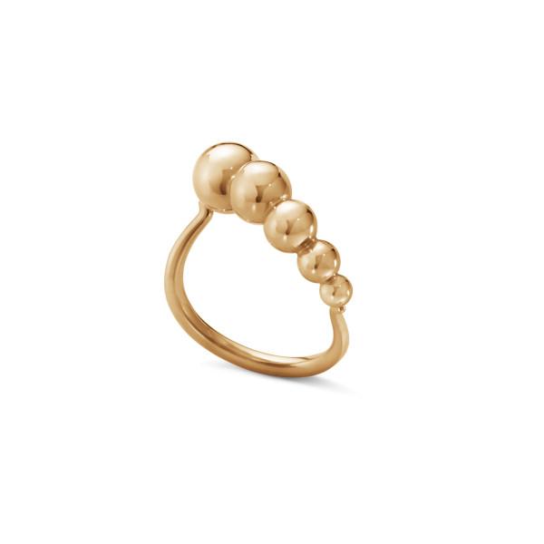 MOONLIGHT GRAPES ring – 18 kt. rosa guld