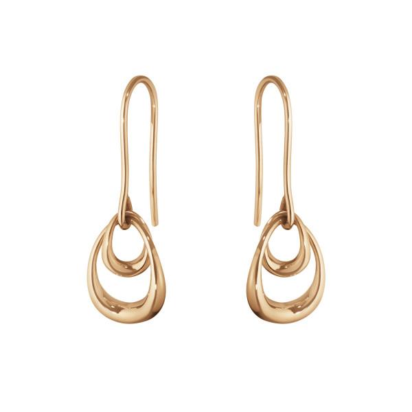 OFFSPRING øreringe - 18 kt. rosa guld