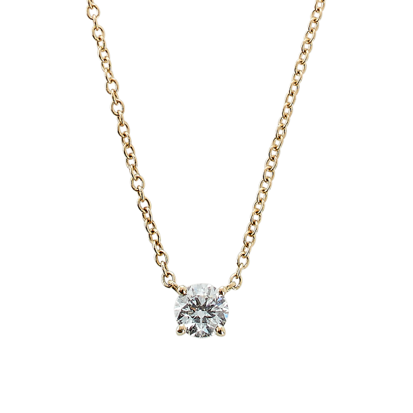 COLLIER 0,40CT TW/SI