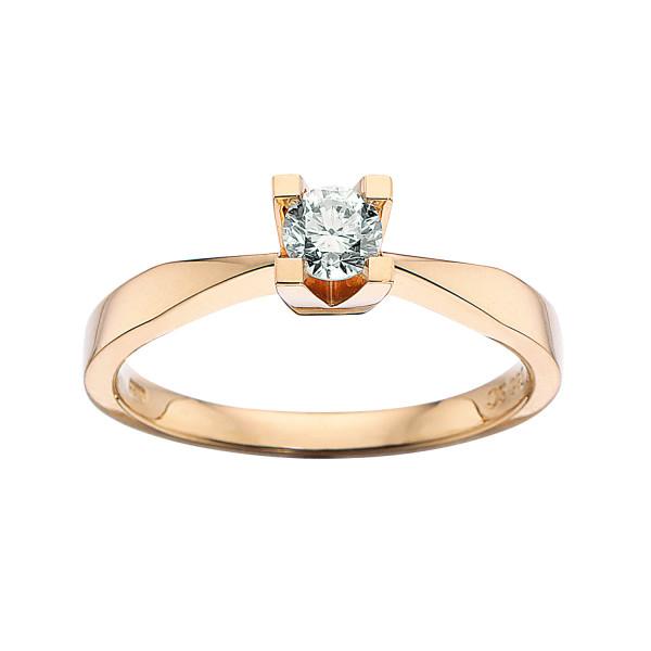 Kleopatra ring 0.25 ct