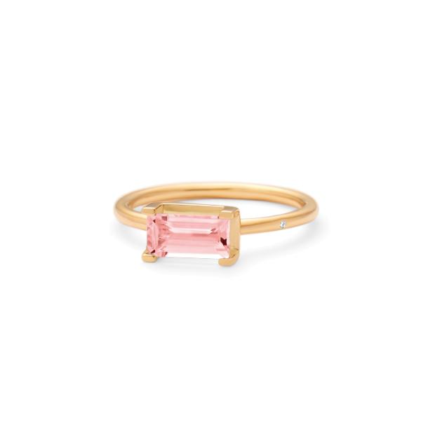 Nord pink turmalin ring