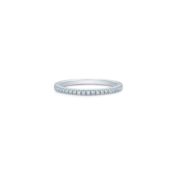 Simplicity Ring - Rhodium/White