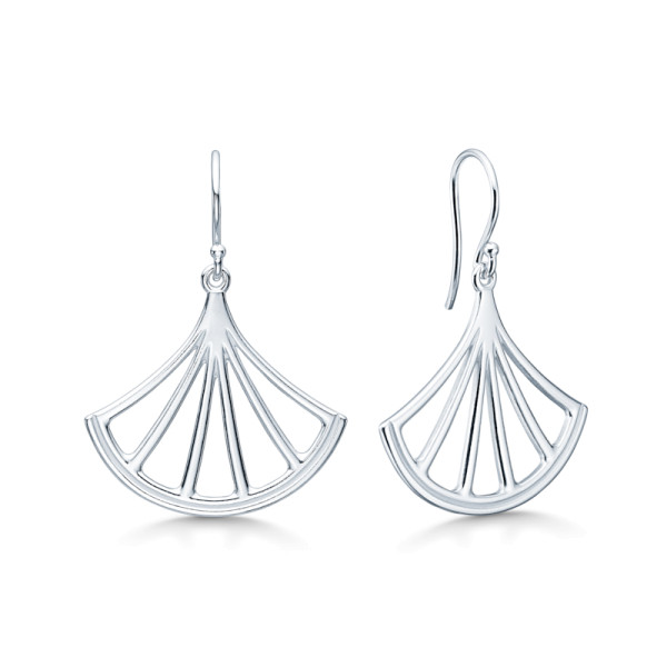 Lemon Earrings - Rhodium