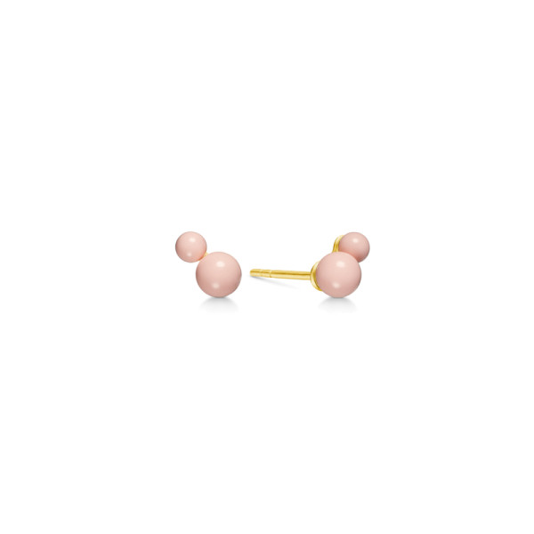 Candy Earstuds - Gold/Rose