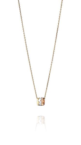 FUSION vedhæng - 18 kt. guld, rosa guld og hvidguld