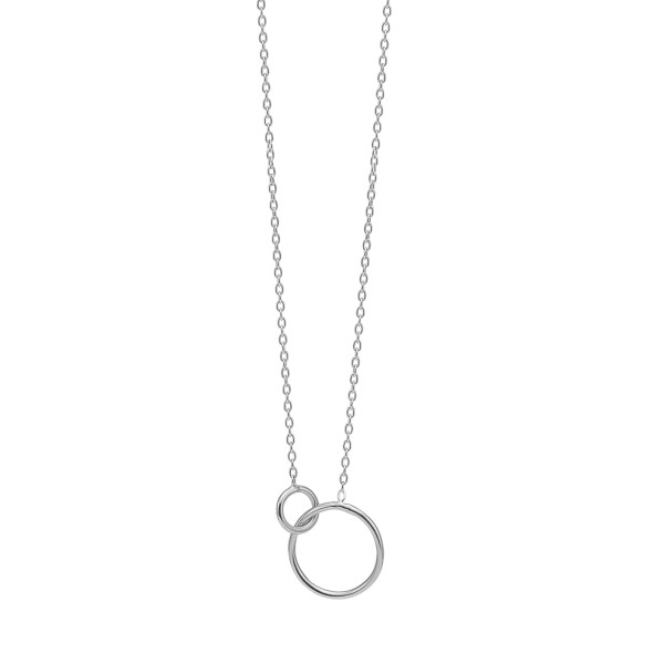 Necklace, double circle
