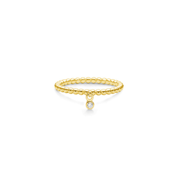 Bubbly Drop Ring - Gold