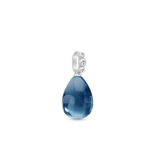 Bloom Droplet pendant blå
