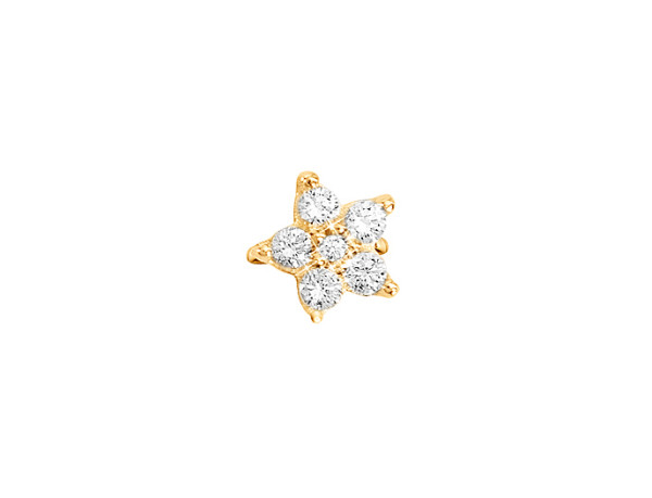 Shooting stars charm spot 0.49ct
