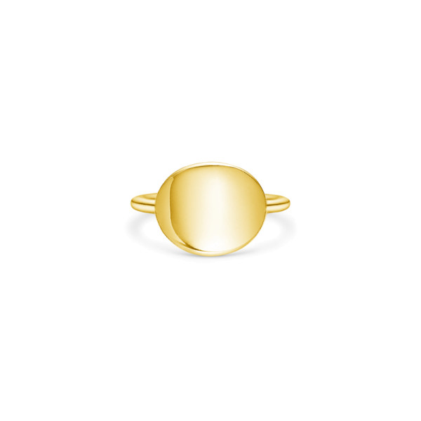 Dash Statement Ring - Gold