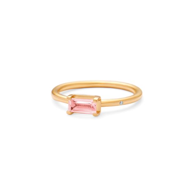 Nord pink turmalin mini ring