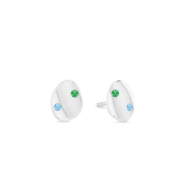 Liquid Mini earstuds- multi
