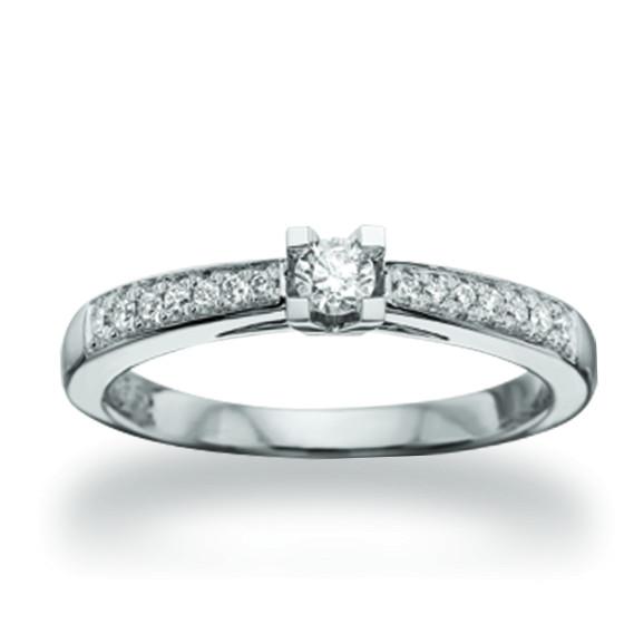 Kleopatra Queen ring 0.22 ct