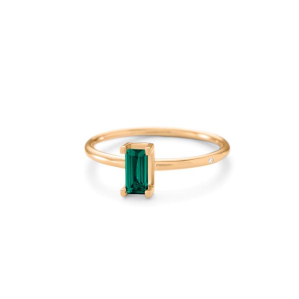 Nord green ring grøn turmalin