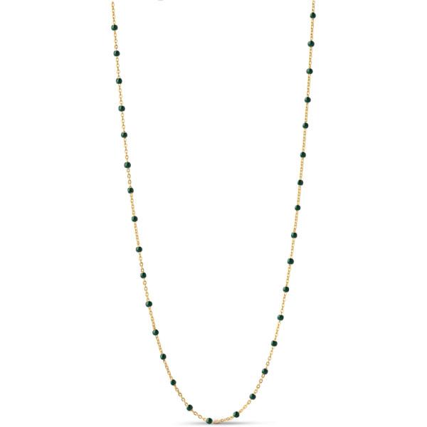 Necklace lola Petrol Green