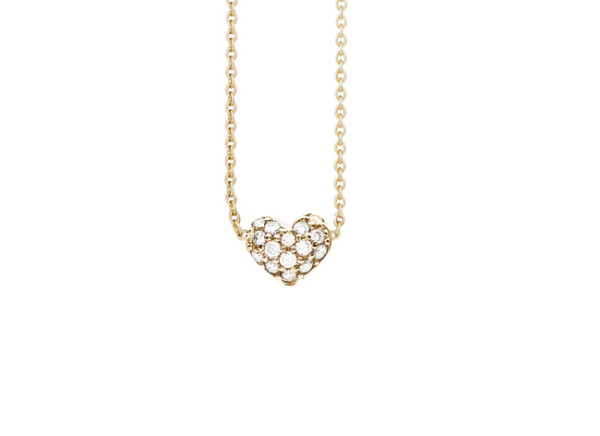 Hearts collier 0.29ct