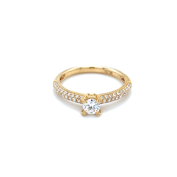 Solitaire ring 0,62ct