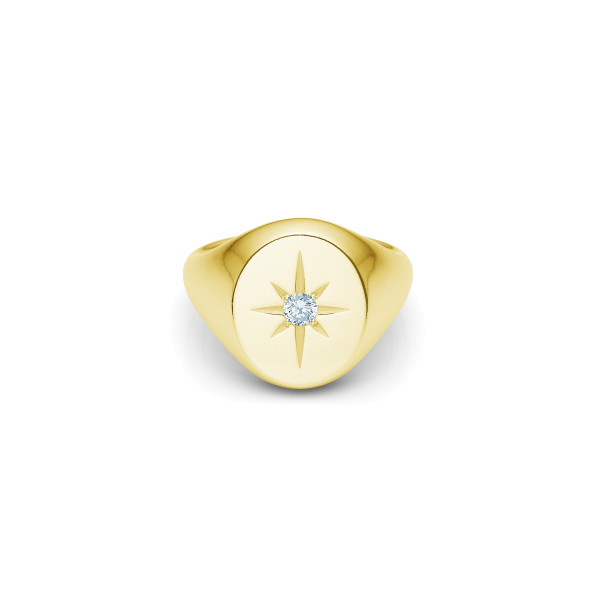 Guiding Star Ring - Gold