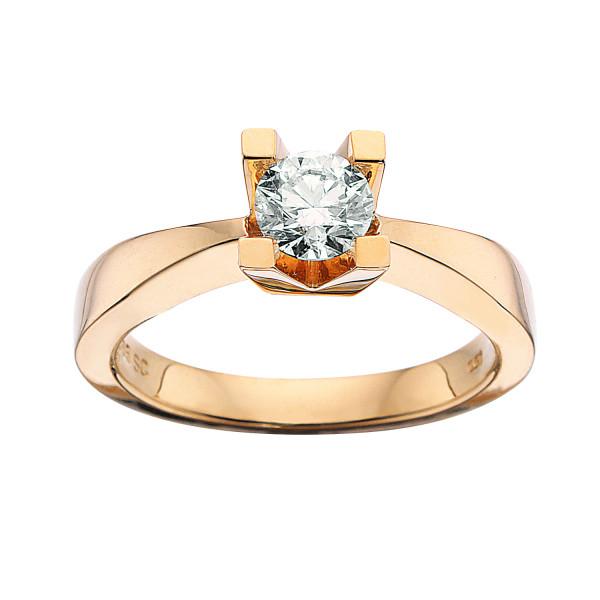 Kleopatra ring 0.50 ct