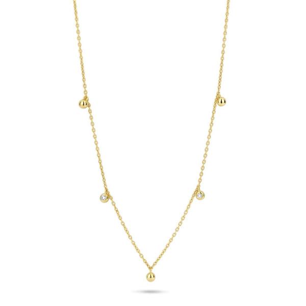 Sway necklace 0,04ct W/VS