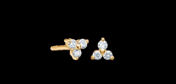 Fryd diamant ørestikker