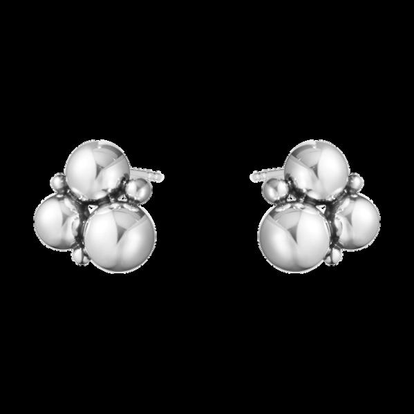 Grape ørestikker sølv