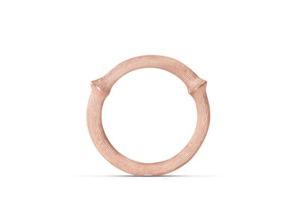 Nature ring 3 rosaguld