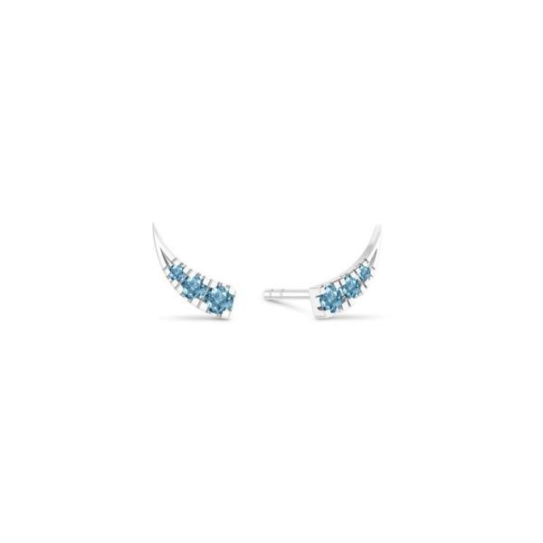 Glace Large øreringe - Blue