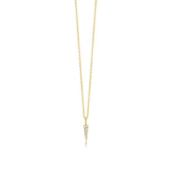 Glace Necklace - Gold/White