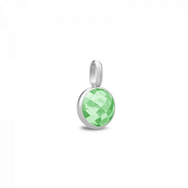 Sweet pea vedhæng grøn krystal
