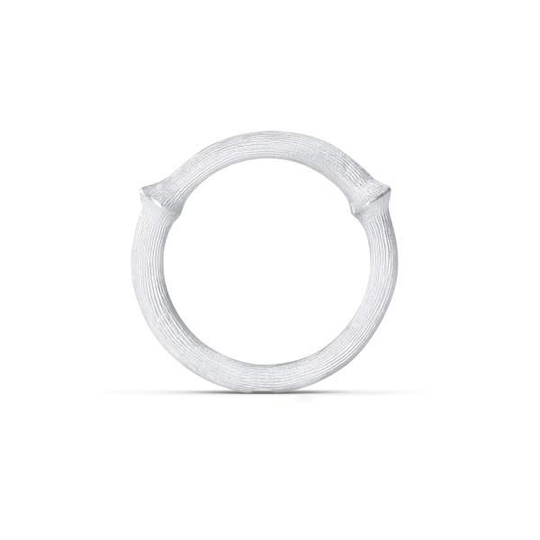 Nature ring 3 hvidguld