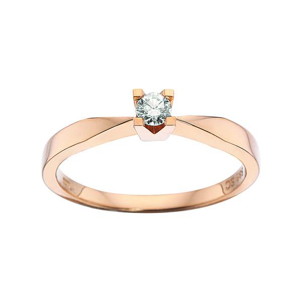 Kleopatra ring 0.10 ct
