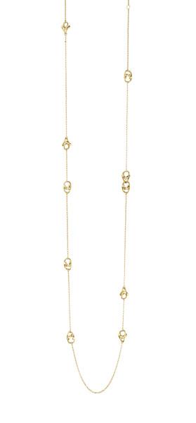 MAGIC halskæde - 18 kt. guld med brillantslebne diamanter