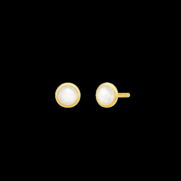 Moon earstuds hvid