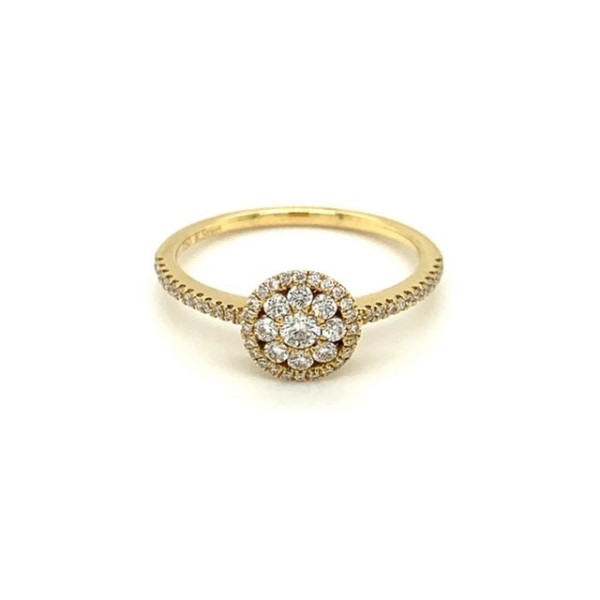 Diamant ring 0,57ct tw.vs